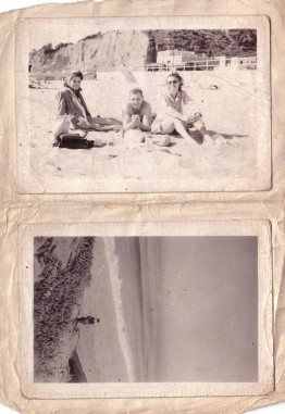 Arthur and Elizabeth Huston Vacation Album, ca. 1947 Page 14rotated