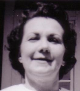 Eunice Carey, April 1962 (cropped image)