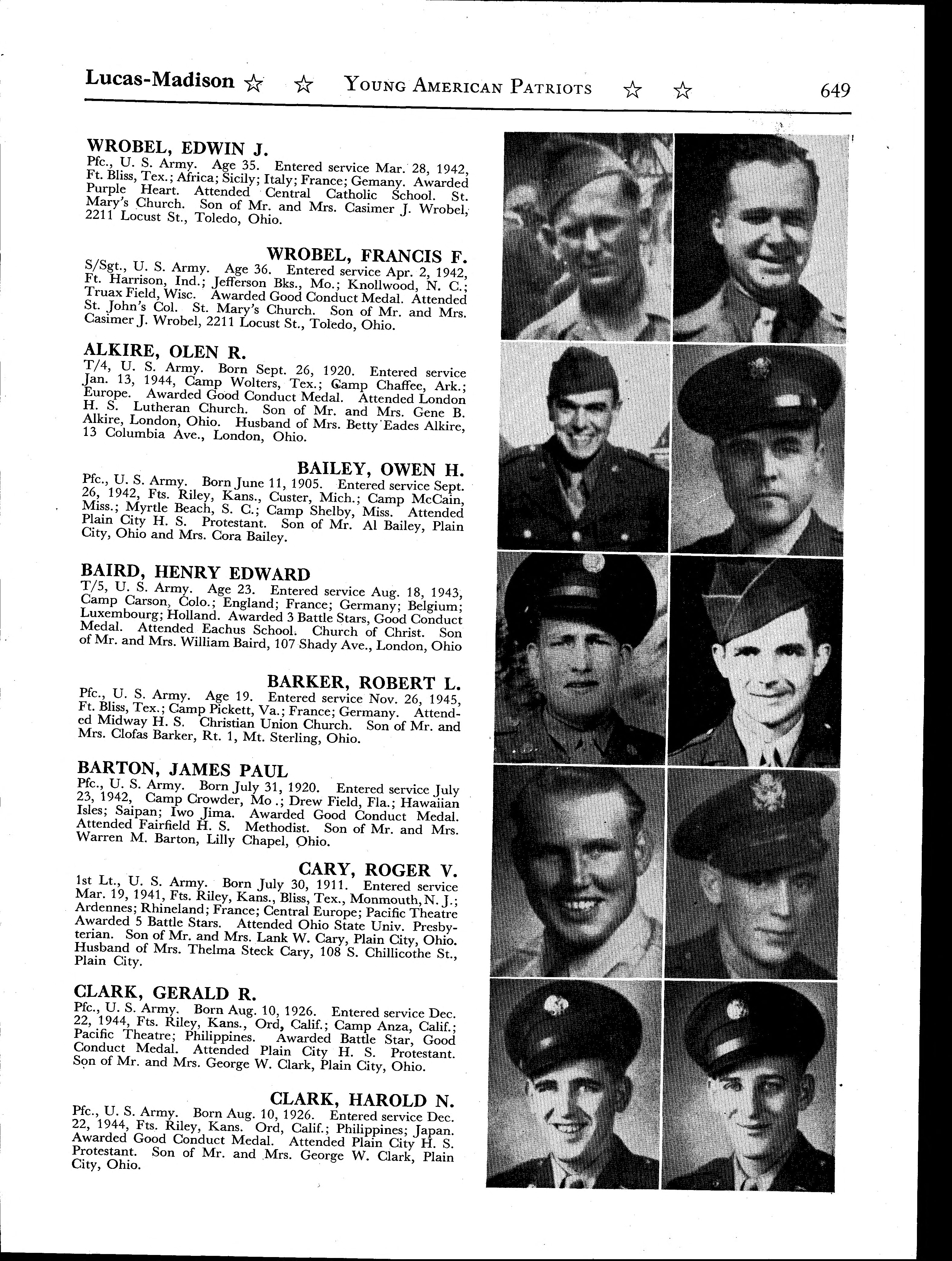 World war ii young american patriots 1941 1945 page 649